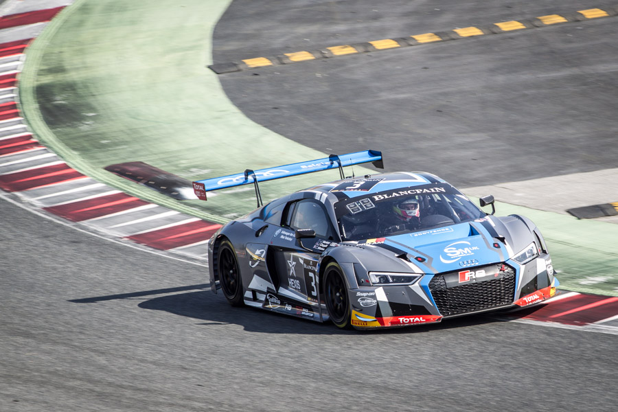 Blancpain GT series circuit automobile de barcelone