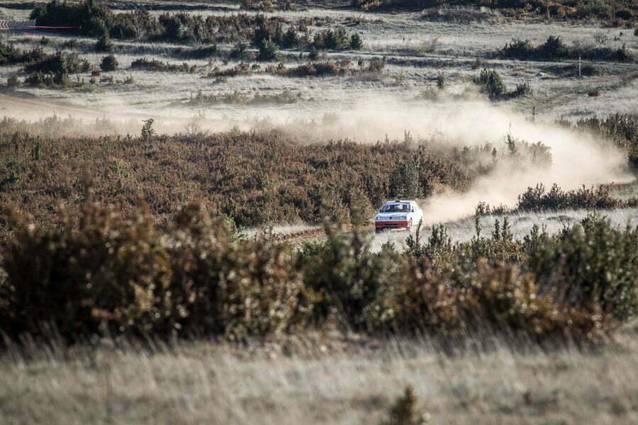 Rallye terre des cardabelles sur le plateau du larzac